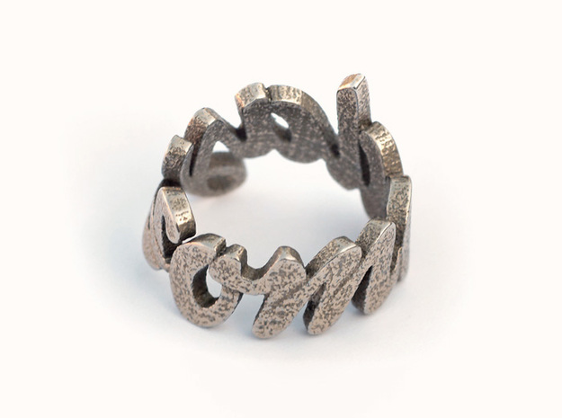 Someday Ring (various sizes) in Natural Brass