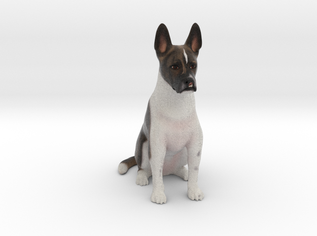 Custom Dog Figurine - Leedo