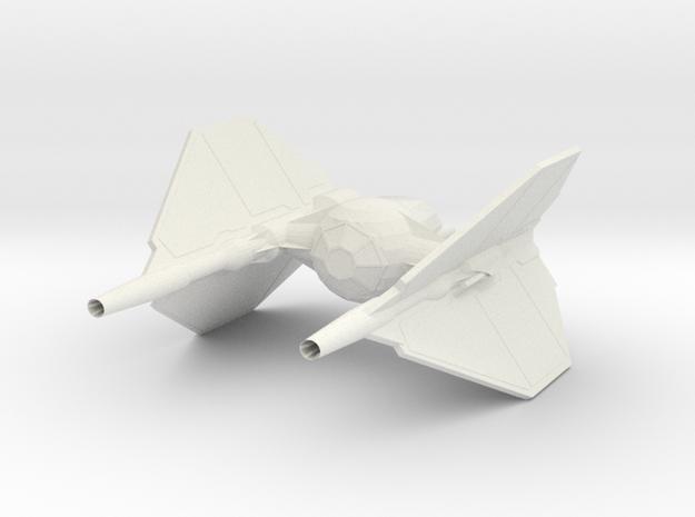 T-INVADR HvyFrighter in White Natural Versatile Plastic