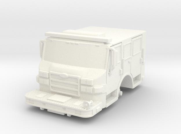 1/87 Jack Daniels Pumper Cab in White Processed Versatile Plastic
