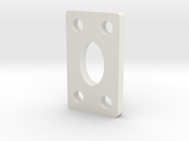 DO - KICK-UP - SHIM - O DEGREE - .150 THICK in White Natural Versatile Plastic