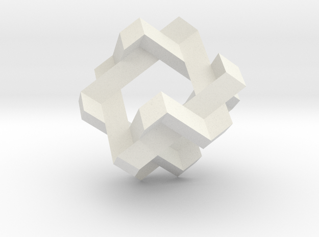 Doro-Knoten-mini in White Natural Versatile Plastic