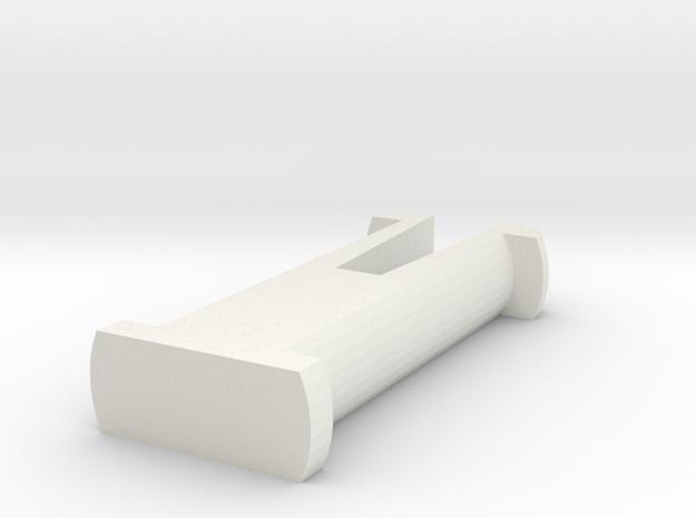 Arm Pins (YD-5C) in White Natural Versatile Plastic