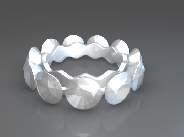 Diamonds are a girl's best friend in Smooth Fine Detail Plastic