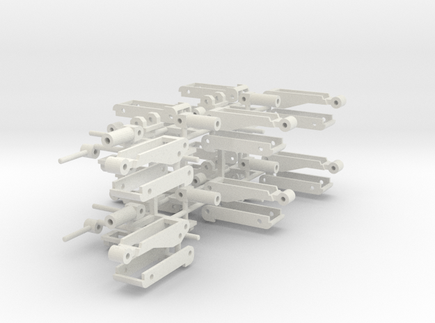 Hoist Ten Sprued in White Natural Versatile Plastic