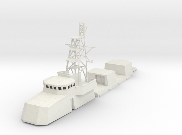 1/72 scale US Navy Cyclone Structure in White Strong & Flexible