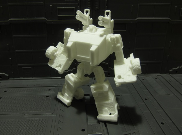 OUTLAND - transforming to robot from off load car