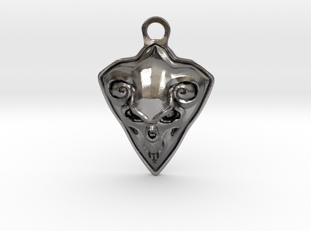 FAUST pendant  in Polished Nickel Steel