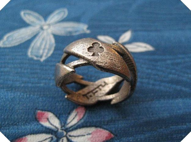 US11 Ring XXXI (Stainless Steel) in Stainless Steel