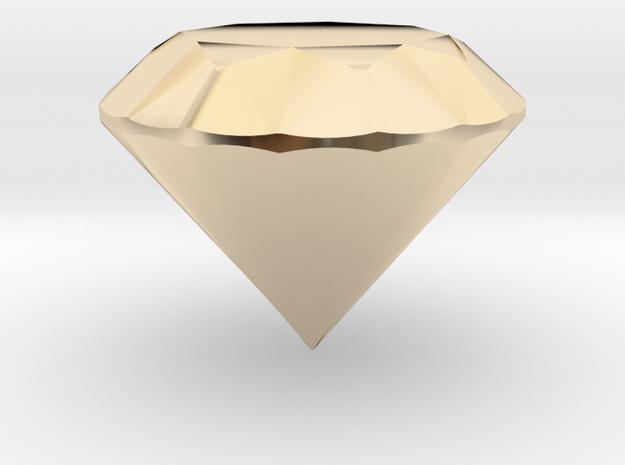 Diamond in 14K Yellow Gold