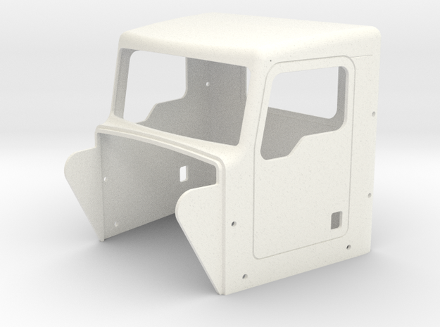 KW Style DayCab in White Processed Versatile Plastic