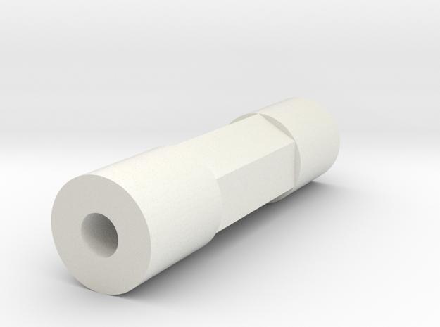 MRB 5 Chassisstrebe einzeln in White Natural Versatile Plastic