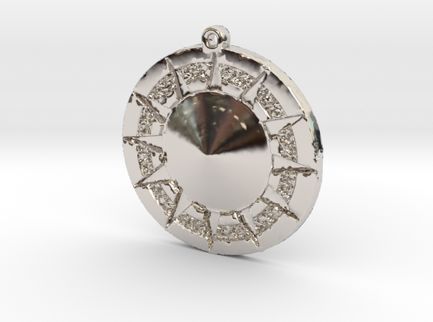 12 Tribes Star Pendent