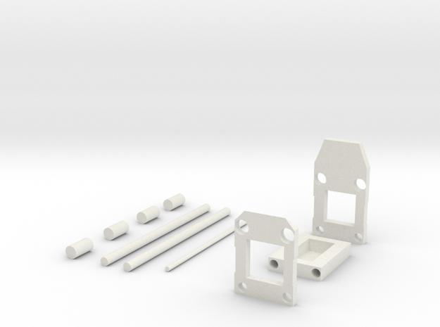 Mendocino Full in White Natural Versatile Plastic