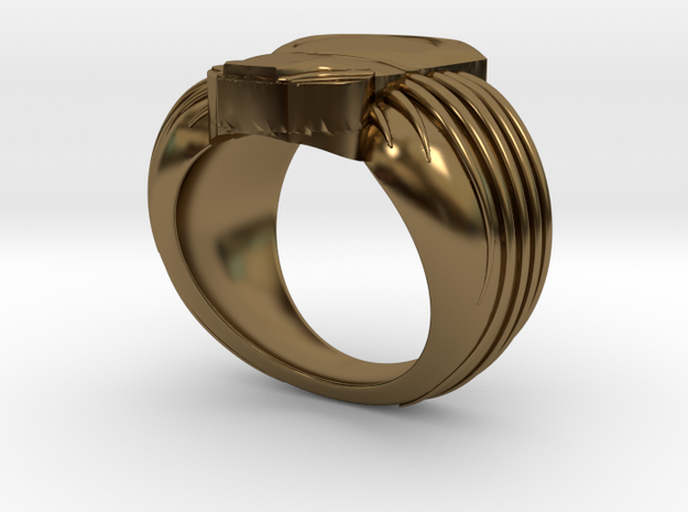 Predator Ring 19mm 3d printed