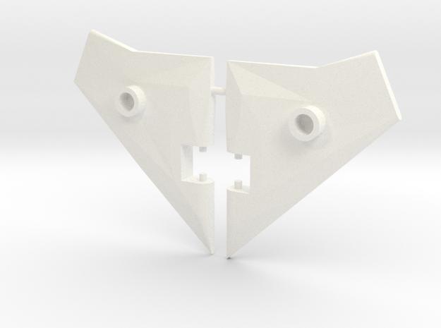 AirRaidwing Mk 1 in White Processed Versatile Plastic