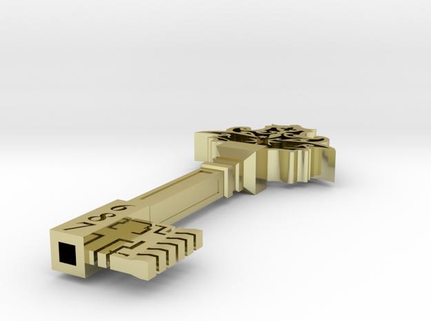 Harry Potter Small Vault Key 3d printed