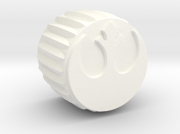 Rebel Insignia Guitar Knob without Flange