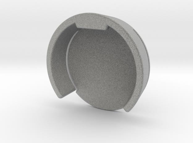 GoPro Hero3 / Hero4 Lens Cover for Frame Case in Metallic Plastic