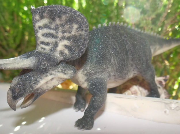 Zuniceratops in Full Color Sandstone