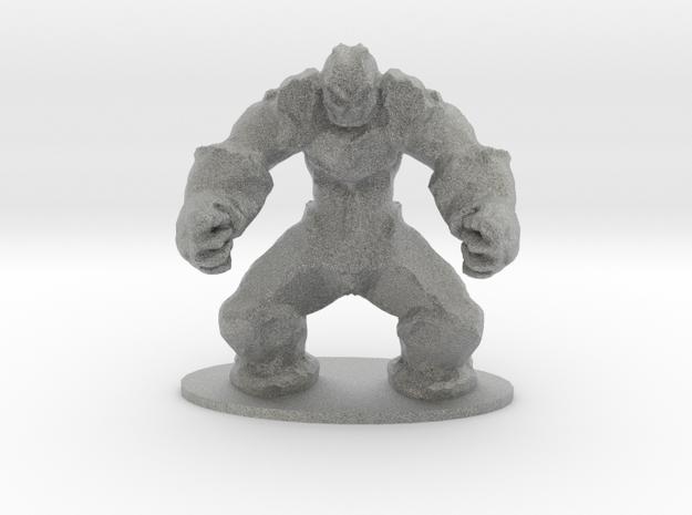 Rock Golem Earth Elemental Miniature