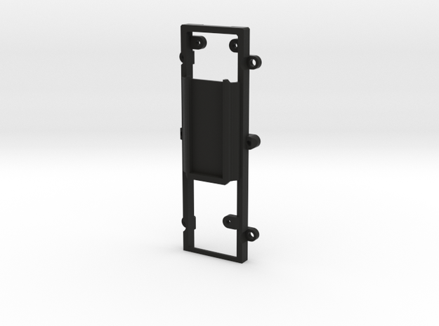 DNA200 Premium case - Easy mount oLED mount in Black Natural Versatile Plastic