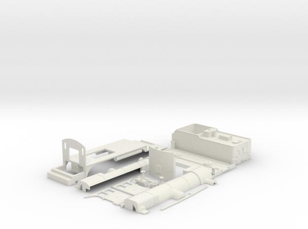 pilot A2 model in White Natural Versatile Plastic