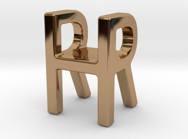 Two way letter pendant - HR RH