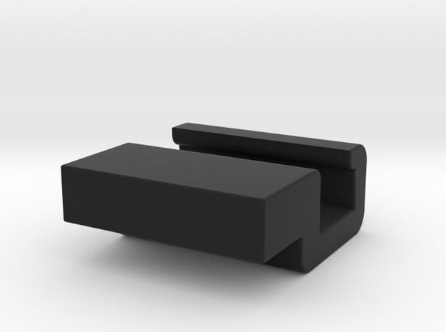 MP-24 Long Handle Sword Hand Adapter  in Black Natural Versatile Plastic
