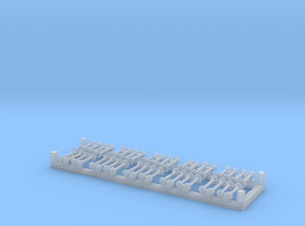 10xMartin-Horn ohne Schutzkappe in Smoothest Fine Detail Plastic