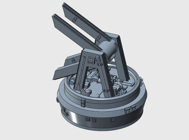 YT1300 MPC RADAR 44 MM MOUNT BASE ANH in Smooth Fine Detail Plastic