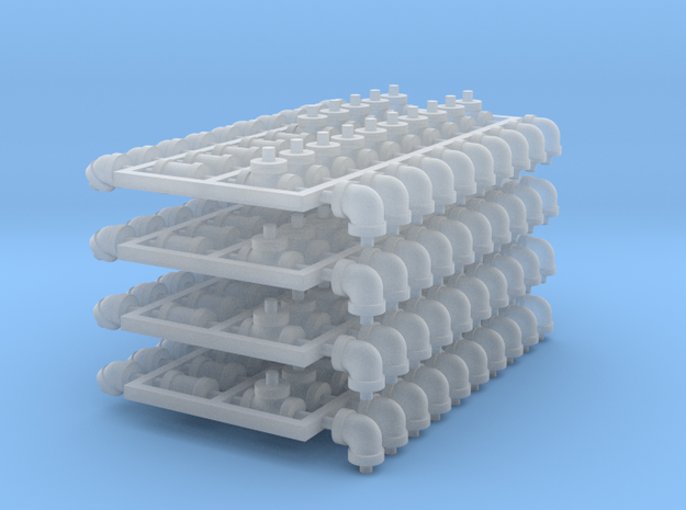 Set 4in 2b-4 in Smooth Fine Detail Plastic