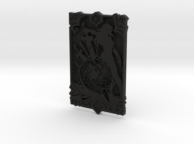 Darksiders Tarot Card - VI - The World in Black Natural Versatile Plastic