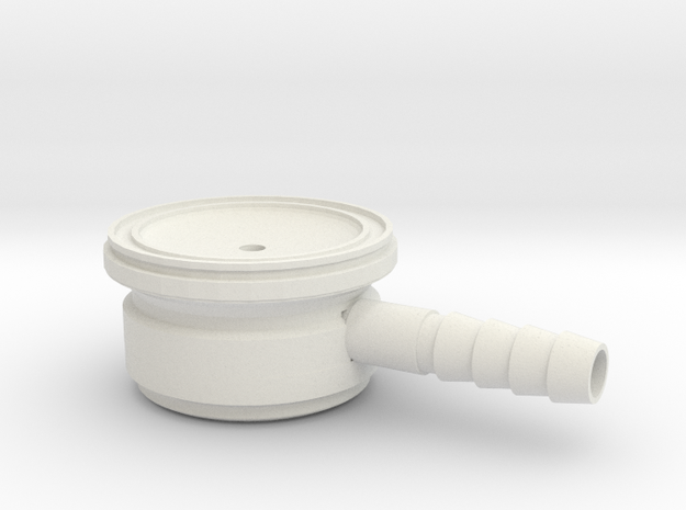 Tunable Stethoscope in White Natural Versatile Plastic