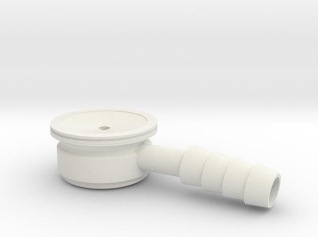 Infant Stethoscope in White Natural Versatile Plastic