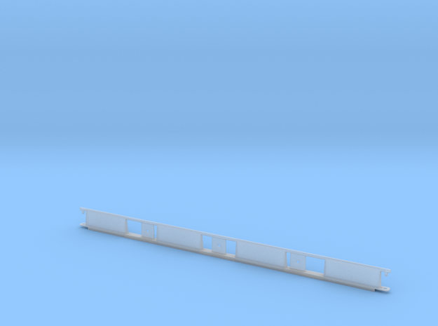 Monorail Straight Rail Gen 2 in Smooth Fine Detail Plastic: 1:32