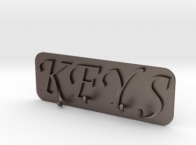 Key Rack in Stainless Steel