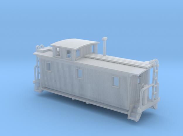 DMIR K1 Woodside Caboose - Zscale 3d printed