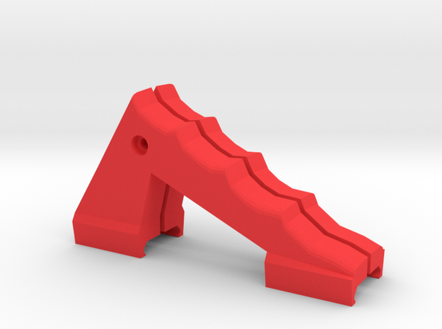Vampric Foregrip in Red Processed Versatile Plastic