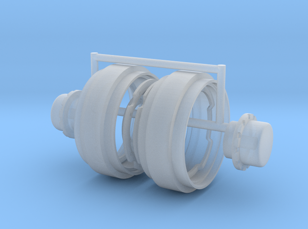 1/64 34in FWA Rims in Smooth Fine Detail Plastic