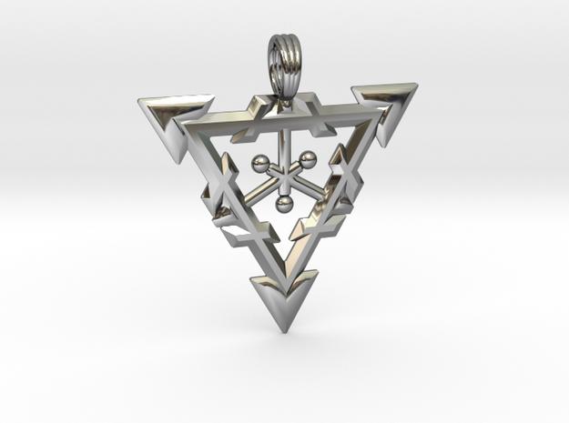 LIQUID WARRIOR in Fine Detail Polished Silver