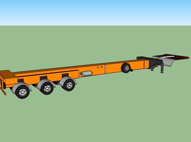 N Wind Blade Trailer (Expandable) in Frosted Ultra Detail