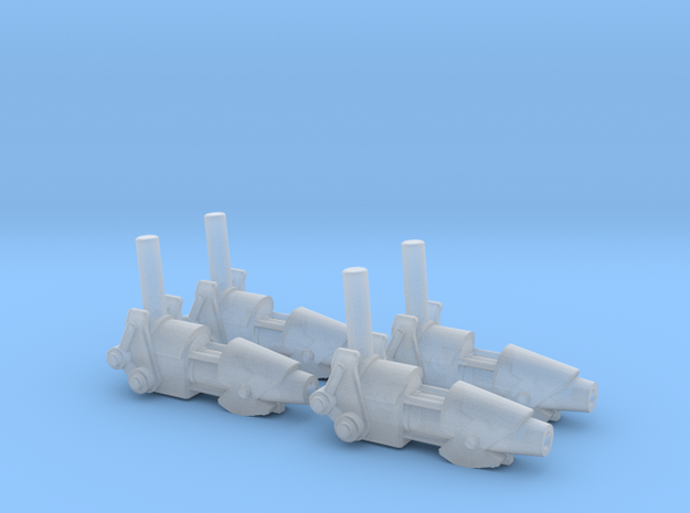 ENTERPRISE NX01 SET OF 4 PHASE CANNON