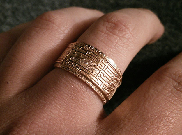 Ancient Maze ring