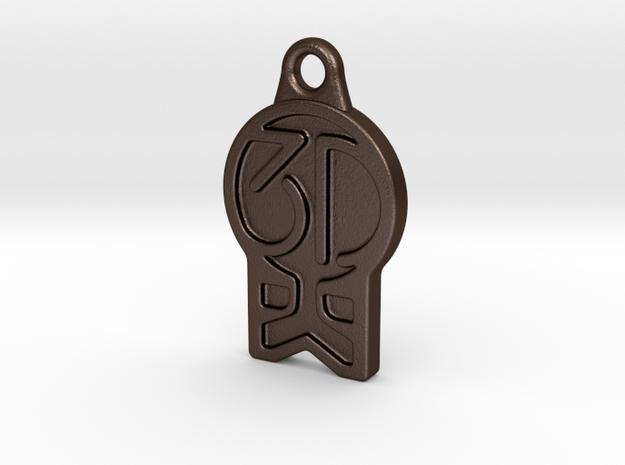 3DKitbash.com Logo Keychain 3d printed