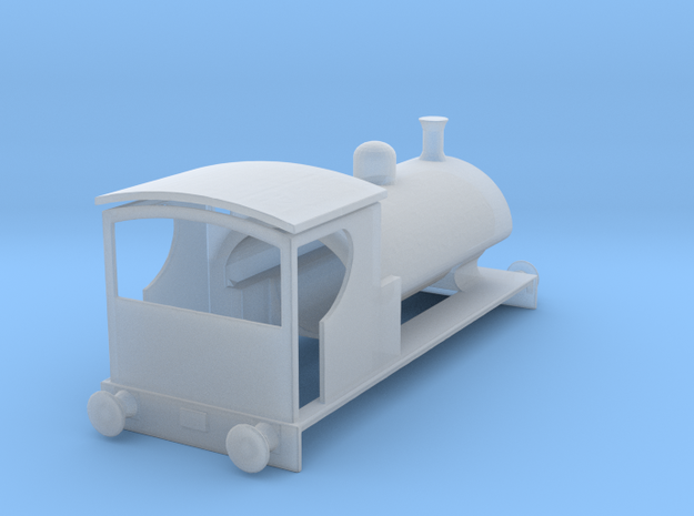 Bass Neilson Reid 0-4-0ST - N Gauge Version