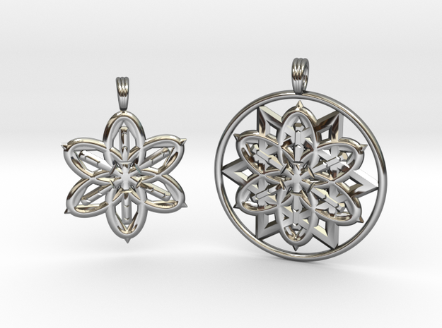 INFINITE SOULMATES (COLLECTION) in Fine Detail Polished Silver