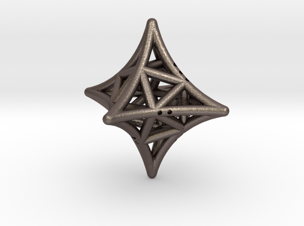 Concave Octahedron with included Icosahedron