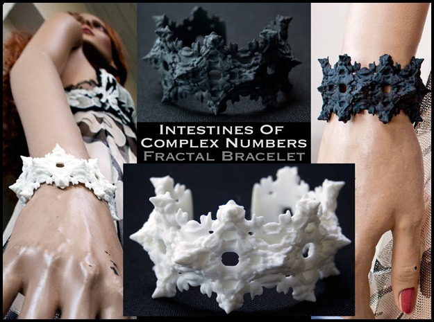 Intestines of Complex Numbers - Bracelet