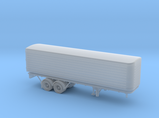 N scale (1:160) DAF Eurotrailer in Frosted Ultra Detail